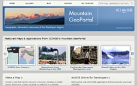 ICIMOD's Mountain GeoPortal on ArcGIS Online