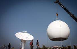 Installation of MODIS Receiving Station at ICIMOD Headquarters