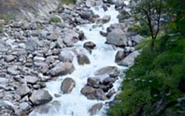 Langtang river