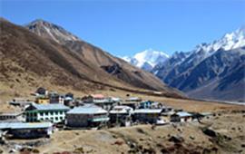 Kyangjing village