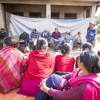 Community-based disaster risk management