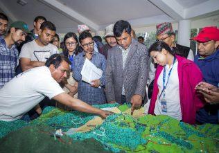 3D model of Godavari springshed at the Godavari Knowledge Park