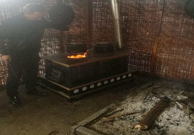 An energy-saving stove
