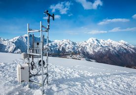 Cryosphere monitoring approach modelling