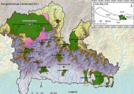 Maps of Kangchenjunga Landscape