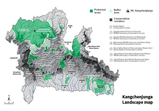 KLCDI map