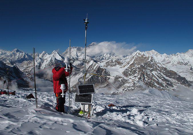 Cryosphere Initiative: Monitoring the cryosphere resources of the Hindu Kush Himalaya