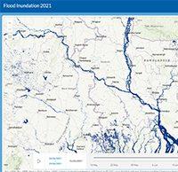 Monitoring and forecasting flood inundation