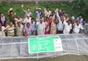 Training Encourages Commercial Vegetable and Fish Farming in Saptari, Nepal