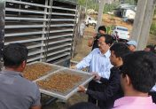 Solar drier to reduce human dependency on forest resources in Mizoram, India
