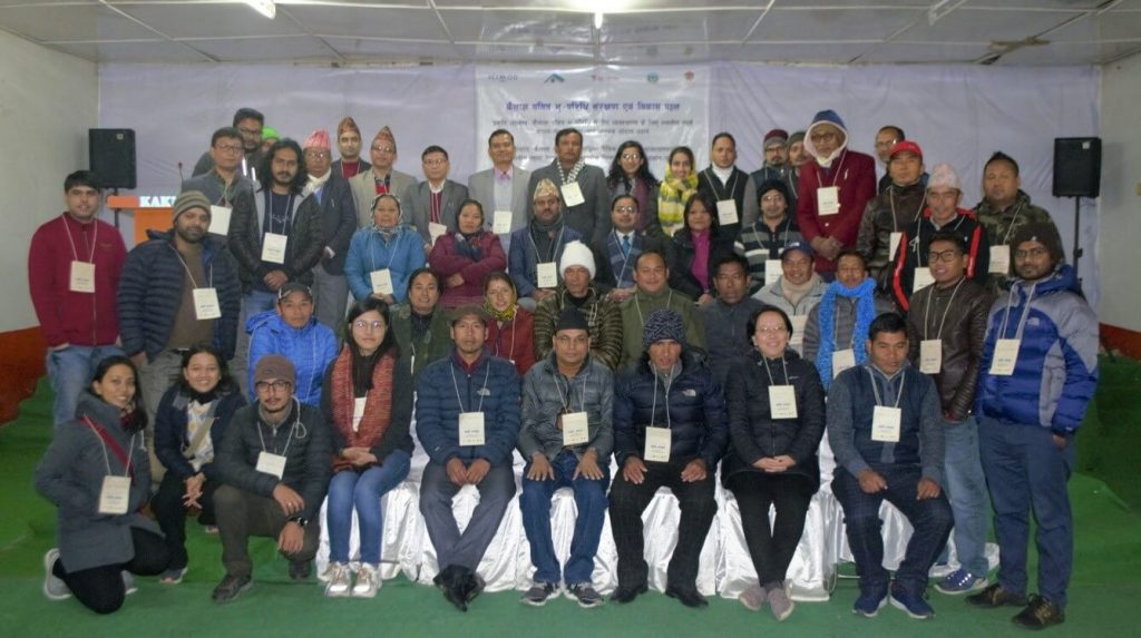 Participants from India and Nepal at Prakriti Ahwaan 2019