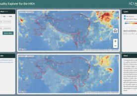 Air Quality Explorer for the HKH