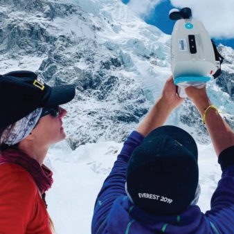 Science and  mapping at the top of the world