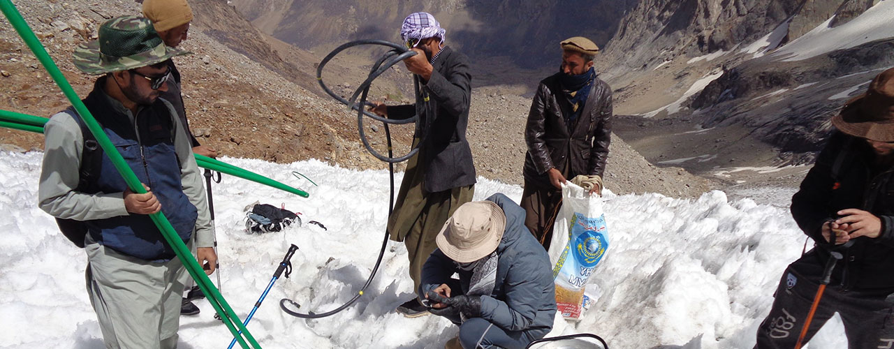 Benchmark glaciers for monitoring in Afghanistan and Pakistan