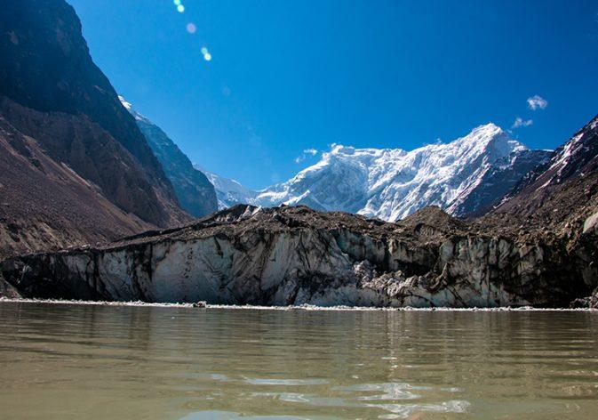 Tarkading glacier tshorolpa