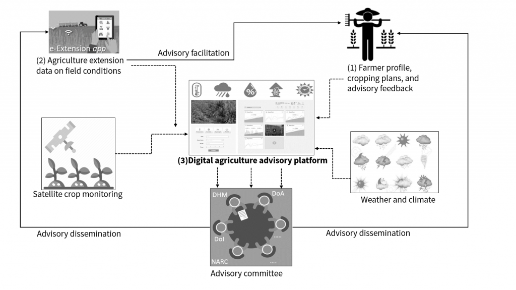 Conceptual diagram of localized agriculture