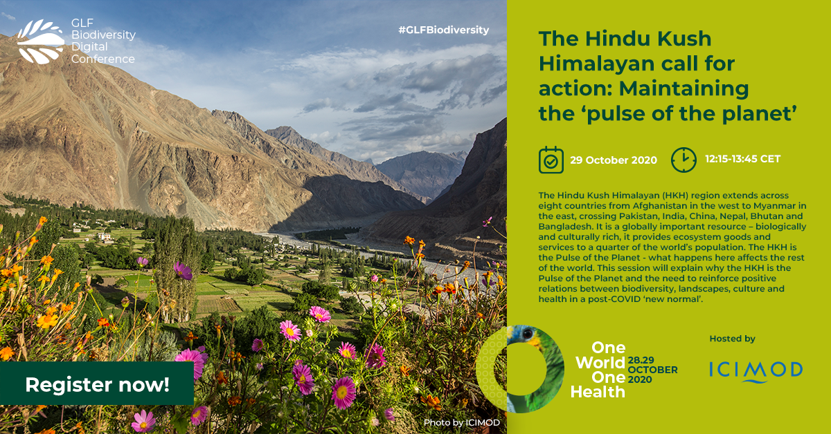 GLF Biodiversity Digital Conference: One World – One Health