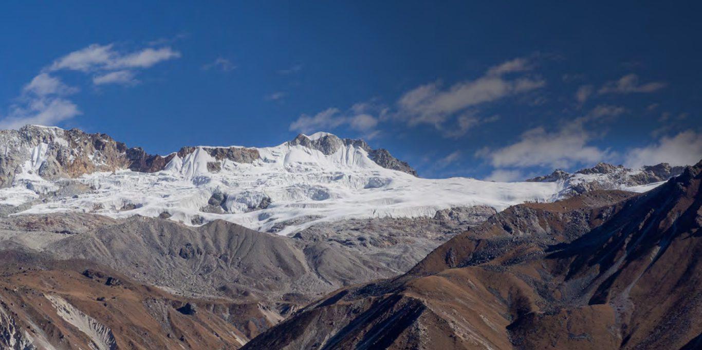 Glacier mass balance modelling using R