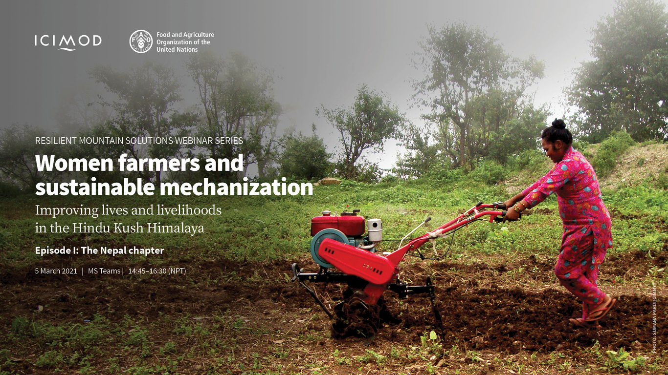 Women farmers and sustainable mechanization