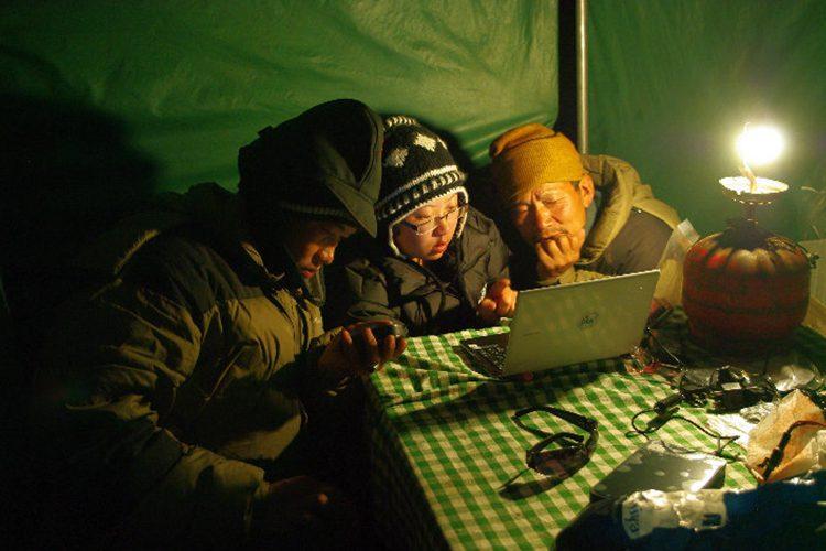 Sonam planning a field activity