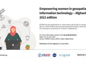 Empowering women in geospatial information technology – Afghanistan 2021 edition