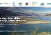 Storying climes of the Himalaya, Andes, and Arctic: Anthropogenic water bodies, multispecies vulnerability, and sustainable living