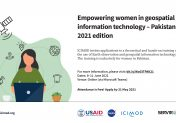 Empowering women in geospatial information technology – Pakistan 2021 edition