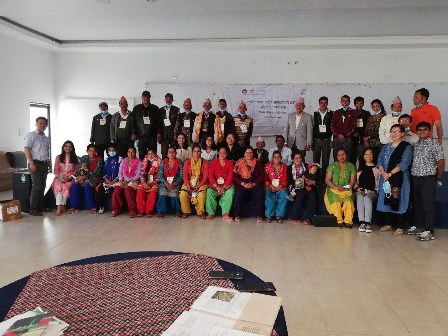 Taalkulla CFUG, Gwalekh Kedar Women's Cooperative, DNPL, and ICIMOD