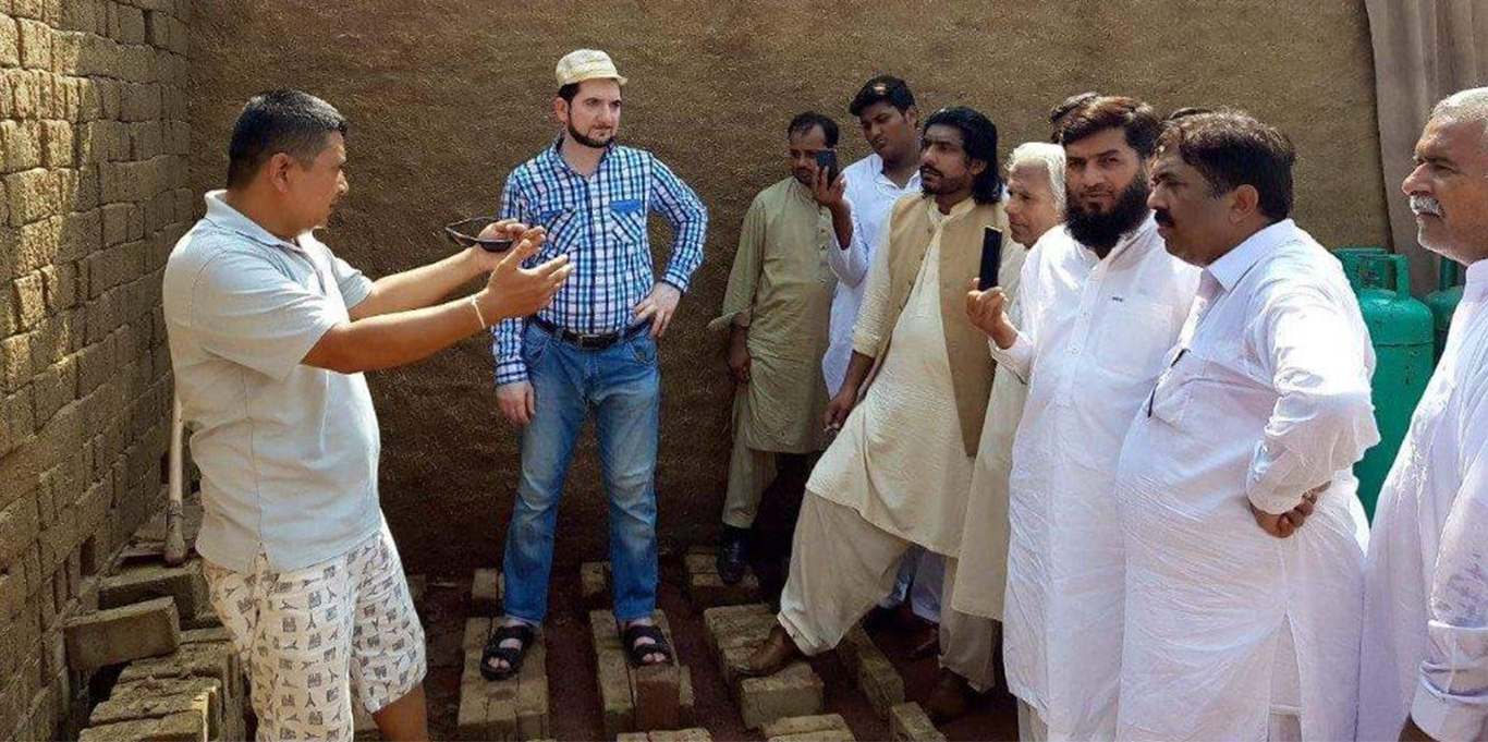 cleaner brick production in Pakistan