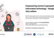 Empowering women in geospatial information technology – Bangladesh 2021 edition