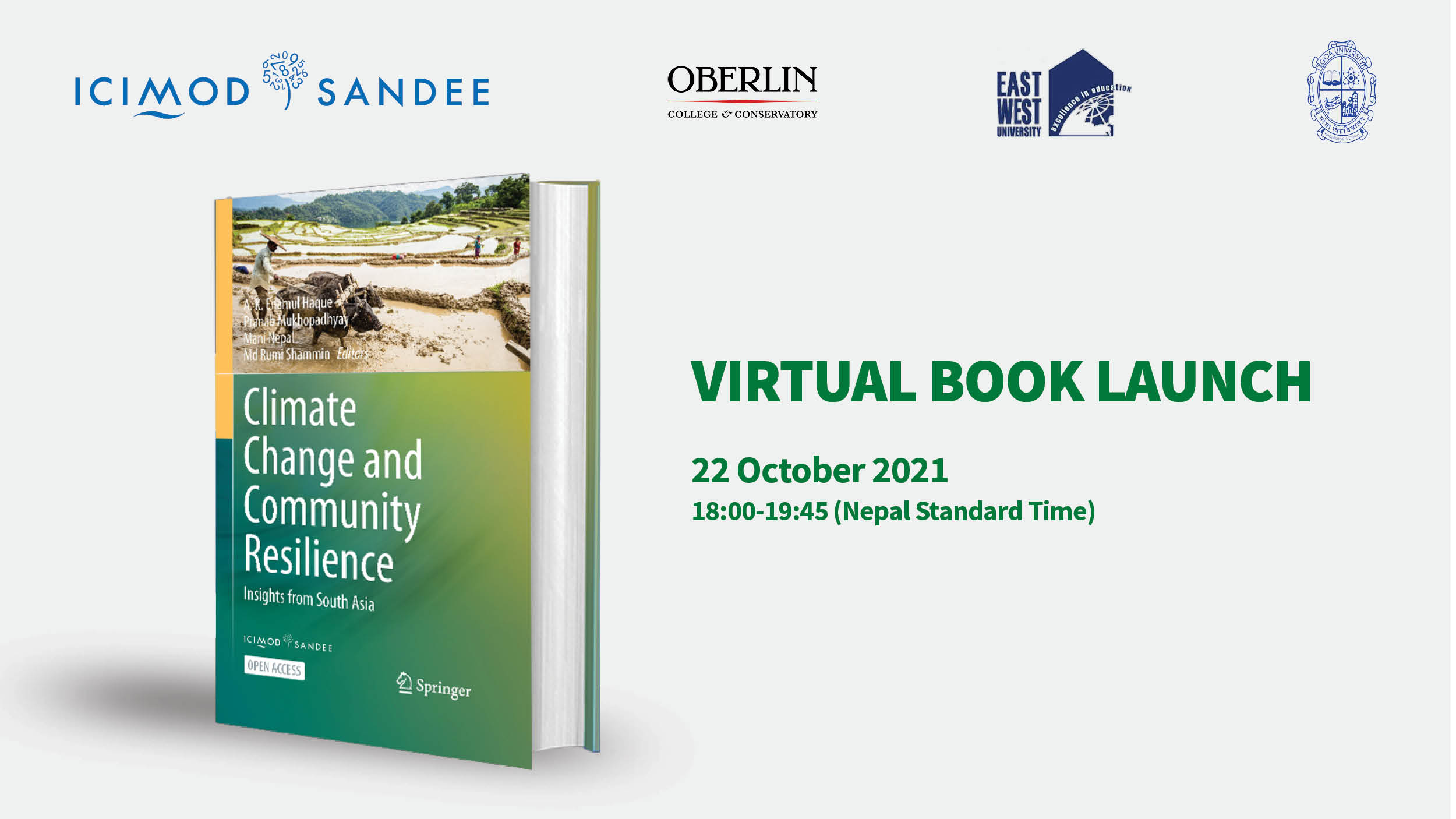 SANDEE CCR Book Launch